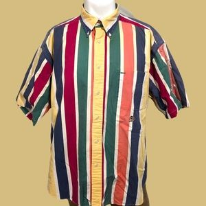 Vintage Tommy Hilfiger Colorful VS Button Down
